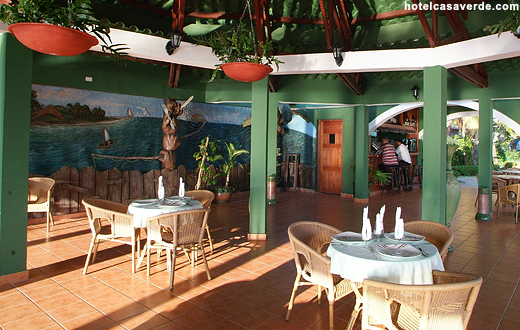 Hotel Casa Verde Bar and Breakfast Area